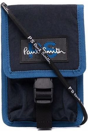 PS Paul Smith Logo-patch phone holder
