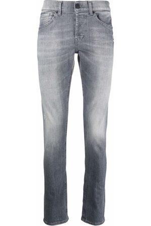 Dondup Faded slim-cut jeans - Grey