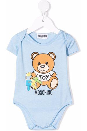 Moschino Kids Toy bear bodysuit