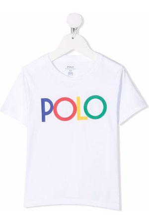 Ralph Lauren Kids Multicolour-logo T-shirt