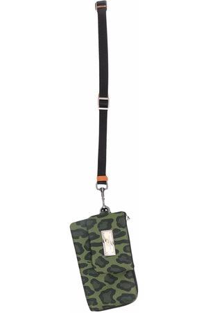 Dolce & Gabbana Set of two leopard-print pouches