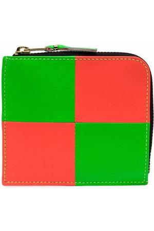 Comme des Garçons Wallets - Chequer zipped wallet