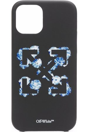 Off-White Floral Arrows-print iPhone 12 Pro case