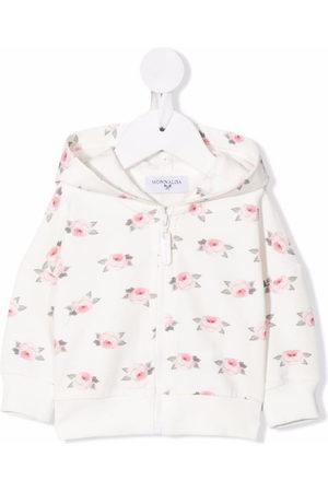 Monnalisa Floral-print hoodie