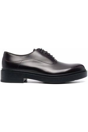 Giorgio Armani Leather lace-up loafers