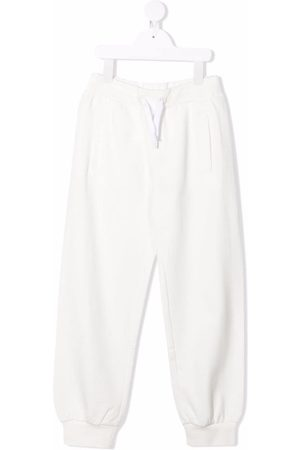 Fendi Kids Boys Sweatpants - Embossed-logo track pants