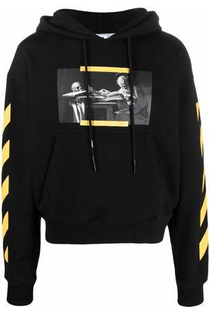 Off-White Carav Diag-stripe hoodie