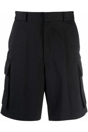 OFF-WHITE Organic cotton cargo shorts