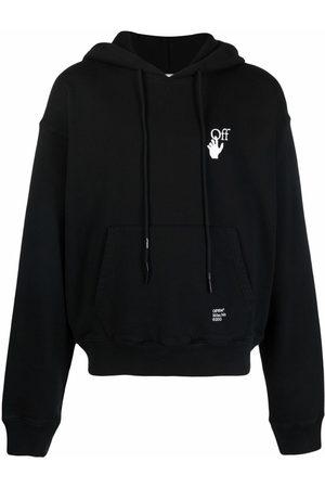 Off-White Caravaggio Arrow logo-print hoodie
