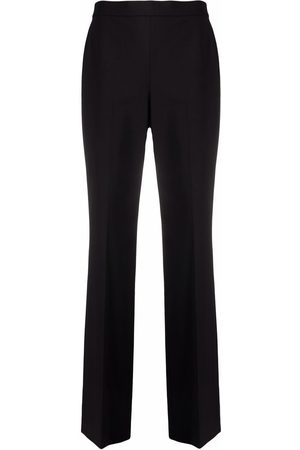 Theory Press-crease wool-blend trousers