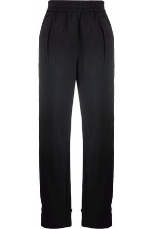 Off-White Ankle-strap straight-leg trousers