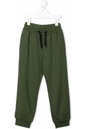 Fendi Kids Boys Sweatpants - Tapered-leg track pants