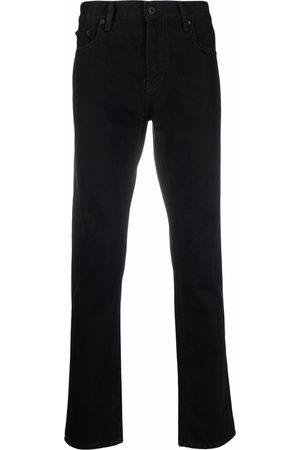 Off-White Men Skinny - Diag-stripe skinny jeans