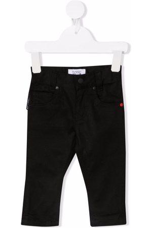 Givenchy Kids Slim - Logo-print slim-cut jeans