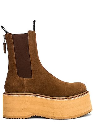 R13 Double Stack Chelsea Boot in