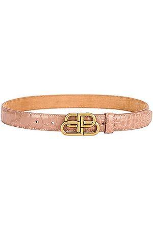 Balenciaga BB Thin Belt in