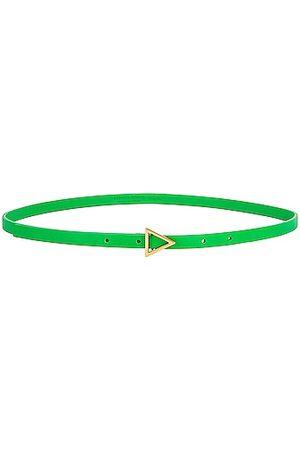 Bottega Veneta Small Triangle Belt in Green