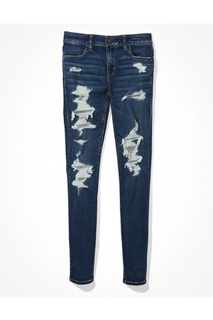 American Eagle Outfitters Next Level Ripped Jegging Women's 2 Long