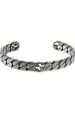 Gucci Wide Interlocking G Cuff Bracelet