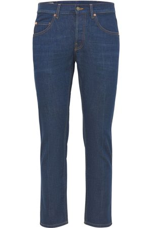 Gucci Stonewashed Cotton Denim Jeans