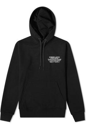 Burberry Men Hoodies - Allen Coordinates Logo Hoody