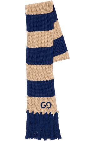 Gucci Bold Stripe Cotton Scarf