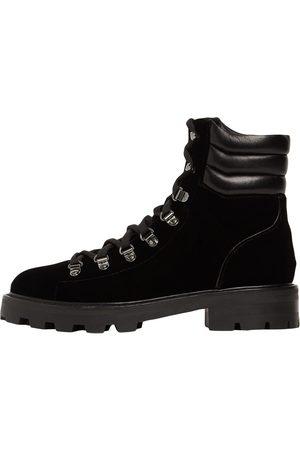 Jimmy Choo 30mm Eshe Velvet Hiking Boots