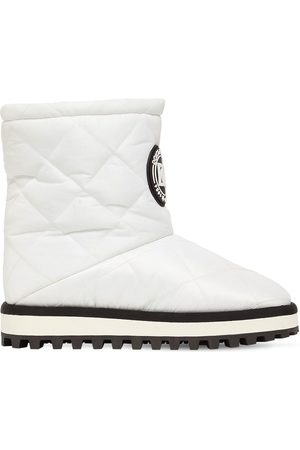 Dolce & Gabbana 10mm City Quilted Nylon Snow Boots