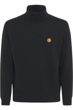 Kenzo Tiger Turtleneck Wool Knit Sweater