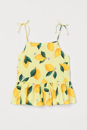 H&M Bow-detail Top