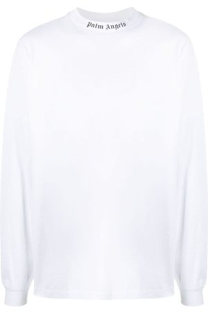 Palm Angels Doubled Logo long-sleeved T-shirt