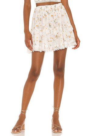 Tularosa Berklee Skirt in White.