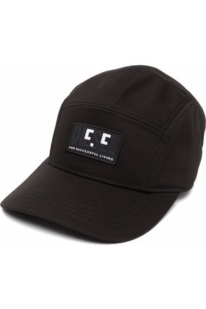 Diesel Logo-patch cotton baseball cap