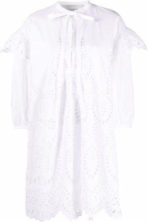 Valentino Broderie anglaise cotton minidress