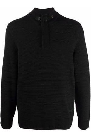 Billionaire Men Sweatshirts - Half-zip knitted jumper