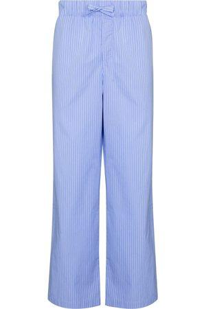 TEKLA Men Pajamas - Striped drawstring pajama trousers