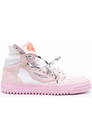 OFF-WHITE Women Sports Shoes - 3.0 OFF COURT LEATHER PINK