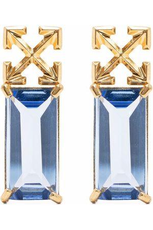 OFF-WHITE Arrow drop earrings
