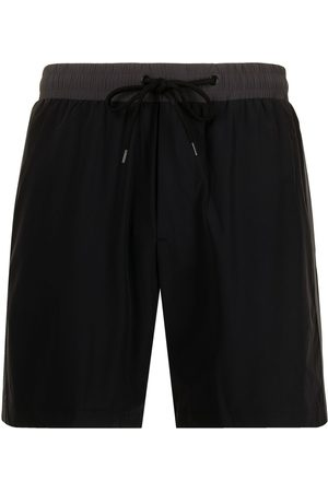 James Perse Double-stripe swim shorts