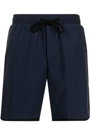 James Perse Drawstring-waist swim shorts