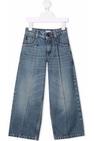 Brunello Cucinelli Girls Wide Leg - Wide-leg jeans