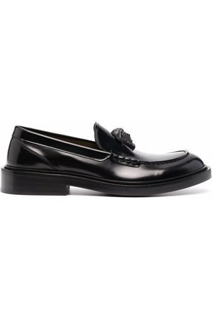 VERSACE Men Loafers - La Medusa leather loafers
