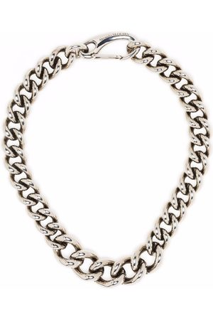 Alexander McQueen Men Necklaces - Chunky chain-link necklace