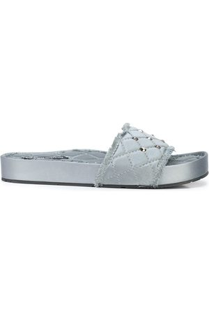 Pedro Garcia Women Sandals - Quilted open toe sandals