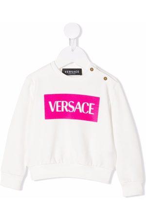VERSACE Hoodies - Logo-print sweatshirt
