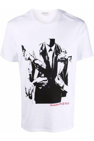 Alexander McQueen Men T-shirts - Graphic-print T-shirt