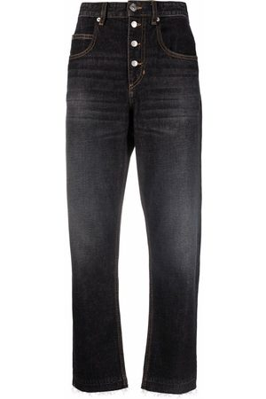 Isabel Marant Women High Waisted - High-rise tapered jeans