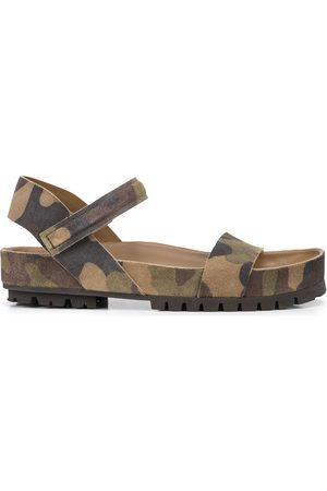 Pedro Garcia Women Sandals - Camouflage-print sandals