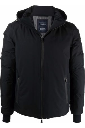 HERNO Padded down hooded jacket