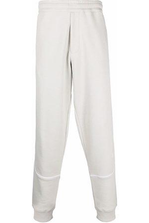 Helmut Lang Logo-patch track pants - Grey